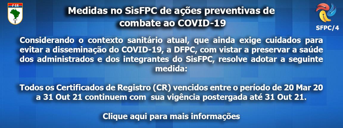Aviso aos usuários SisFPC/4