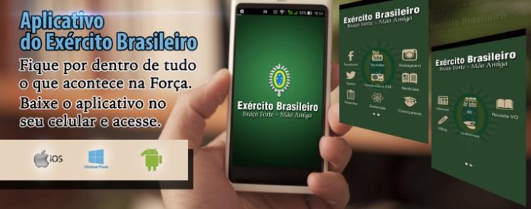 Aplicativo do Exército Brasileiro